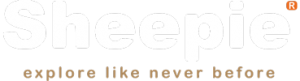 Sheepie explore like never before logo